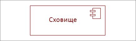 """Фігура компонента """"Сховище"""""""