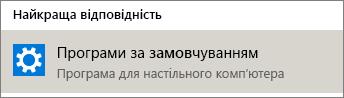 Програми за замовчуванням в операційній системі Windows