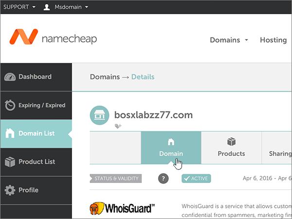 Namecheap--1-набори