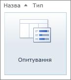 Піктограма опитування SharePoint2010