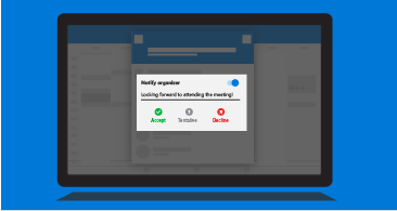 """Екран планшета із запитом """"Сповістити організатора"""", у вікні якого наведено список доступних варіантів відповідей і передбачено можливість додати примітку"""