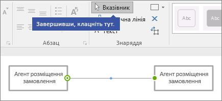 «Клацніть тут, коли все буде готово» вказують на локальний або мережевий диск команди