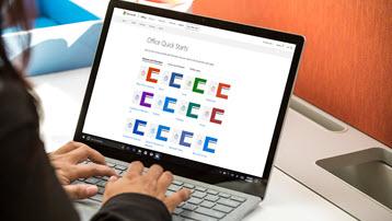 Короткі посібники користувача Office