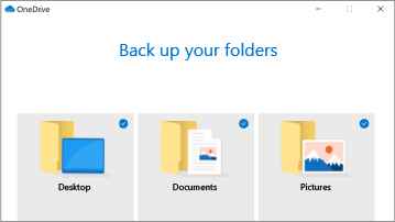 Резервне копіювання папок із ПК до OneDrive