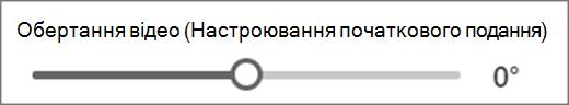 обертання відео