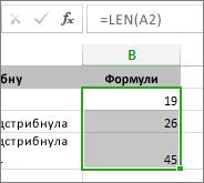 Зразок даних для діаграми