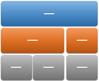 Макет графічного об'єкта SmartArt ієрархічної таблиці