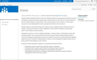 Шаблон корпоративного вікі-сайту