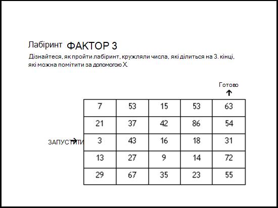 ілюстрація шаблону математичної математичної ламатики.