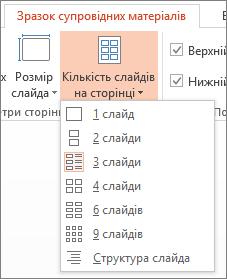 """Параметри """"Кількість слайдів на сторінці"""""""