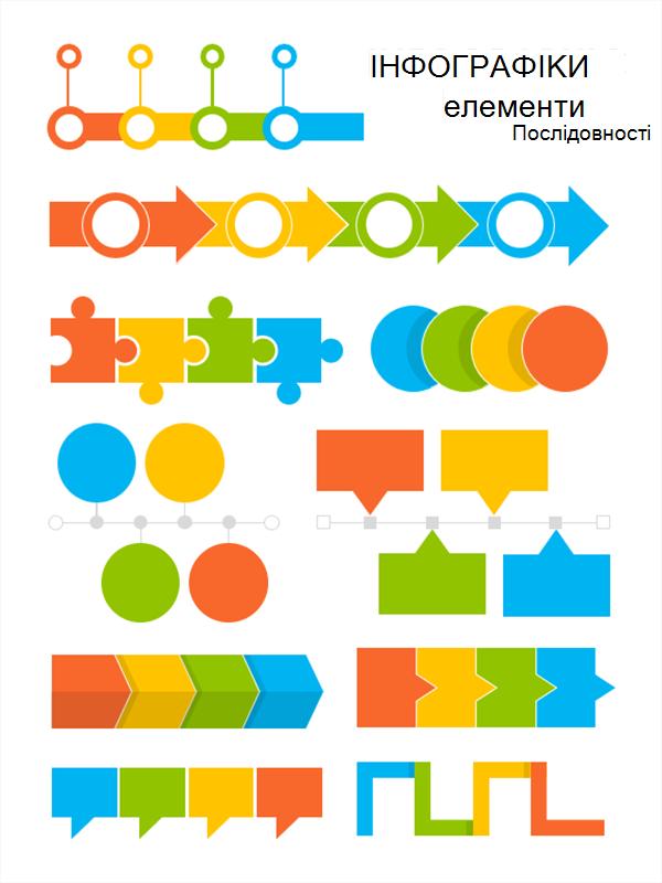 ілюстрація плаката з послідовністю
