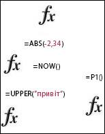 функції excel