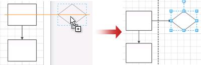 сторінка автоматично розшириться, якщо за її межами розмістити фігуру