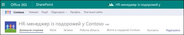 SharePoint концентратор спільні навігації