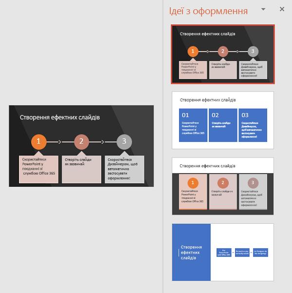 Дизайнер пропонує способи перетворення тексту на рисунок SmartArt, який легко читається.