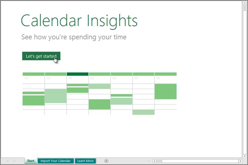 "Шаблон ""Деталізовані дані календаря"""