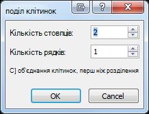 Кнопка «Електронна пошта» без параметрів