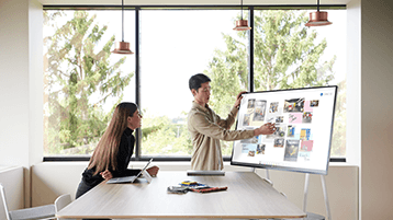 Використання Microsoft Whiteboard на Surface Hub