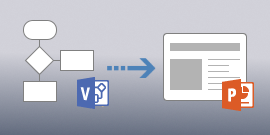 Visio sang PowerPoint