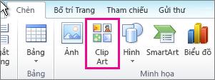 Chèn Clip Art trong Office 2010