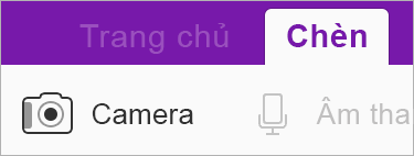 Sử dụng Office Lens để chèn hình ảnh vào sổ tay của bạn