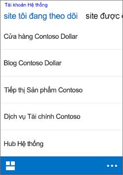 iOS theo dõi trang