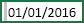 Ô có khoảng trắng được chọn trước ngày 01/01/2016