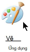 Ứng Vẽ thiết bị trong Windows.