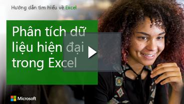 Phụ nữ đang cười, tìm hiểu hướng dẫn dành cho Excel