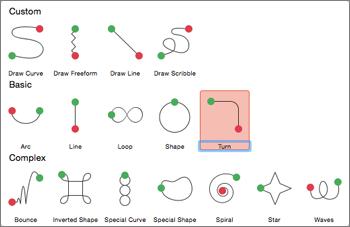 Áp dụng hiệu ứng hoạt hình đường dẫn trên tab Hoạt hình
