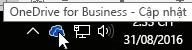 biểu tượng thanh tác vụ onedrive for business