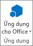 Nút Ứng dụng cho Office