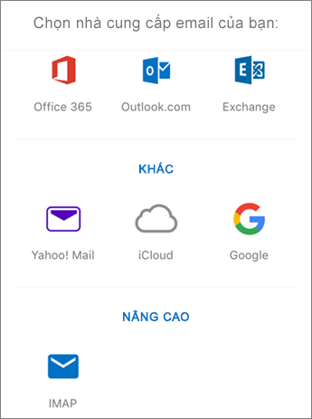 Thiết lập email IMAP trong Outlook for iOS Bước 4