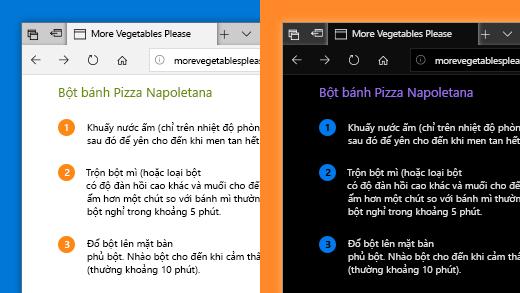 Sử dụng bộ lọc màu trong ứng dụng thiết đặt Windows 10 để làm cho ảnh, văn bản và màu sắc dễ xem hơn.