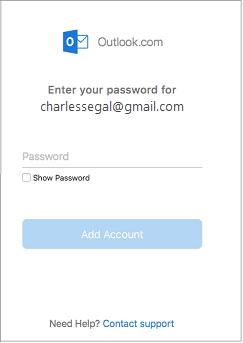 hộp thoại mật khẩu.