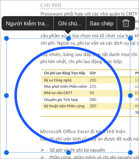 Sửa vết cập nhật PDF