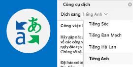 Đọc email Outlook bằng ngôn ngữ ưa thích của bạn