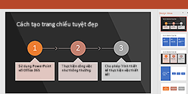 Tính năng PowerPoint Designer