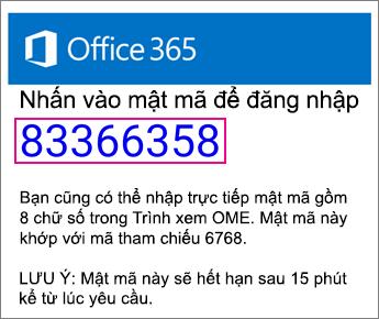 Trình xem OME mã truyền Email