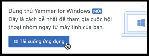 Nhắn tin trong sản phẩm cho Windows