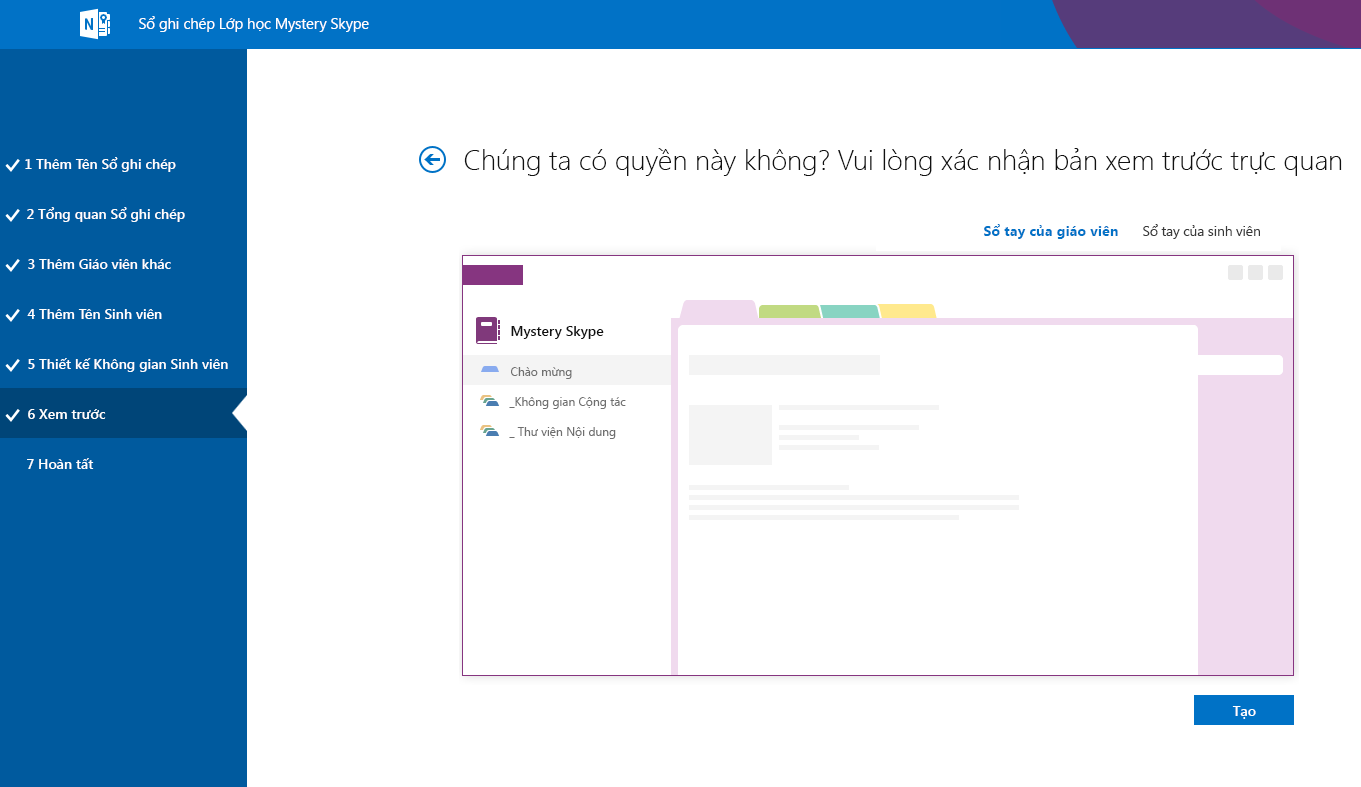 Bản xem trước Mystery Skype