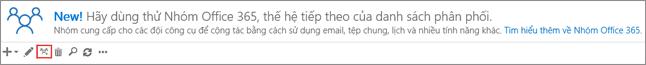 Bấm hoặc gõ nhẹ nâng cấp thành biểu tượng nhóm Office 365
