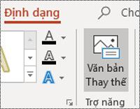 Nút văn bản Altcho hình dạng trong PowerPoint cho Windows