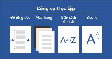 Bốn công cụ học tập sẵn dùng giúp các tài liệu dễ đọc hơn