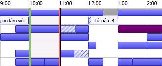Lưới Rỗi/Bận trong Outlook
