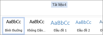 Đổi tên trong Office Online