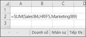 Excel tờ đa thức tham chiếu