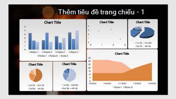 Bảng điều khiển mẫu dữ liệu