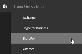 Quản trị SharePoint