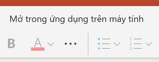 Mở trong PowerPoint